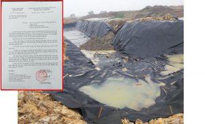 Vụ tập đoàn Hannaka đổ trộm chất thải: UBND tỉnh Bắc Ninh yêu cầu xử lý nghiêm