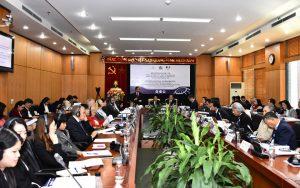 Trường Đại học Nội vụ Hà Nội tổ chức Hội thảo quốc tế 'Đào tạo nhân lực cho nền công vụ đáp ứng yêu cầu phục vụ Nhân dân và hội nhập quốc tế'
