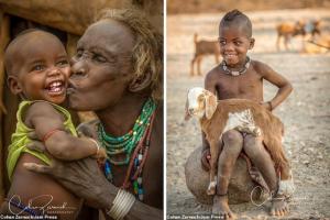 Những bức ảnh tuyệt đẹp về các bộ tộc Châu Phi