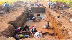 Khai quật khảo cổ tại Khu vực gò Dền Rắn, Hà Nội