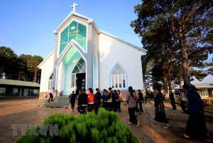 Nhà thờ Tin Lành Plei Mơ Nú – chốn bình yên của bà con giáo dân