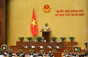 Hôm nay, Quốc hội họp phiên bế mạc, phê chuẩn bổ nhiệm 14 thành viên Chính phủ