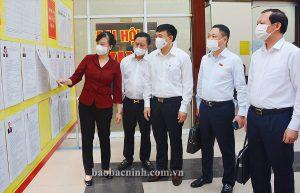 Bắc Ninh bầu cử sớm 1 ngày ở những nơi phong tỏa, cách ly tập trung