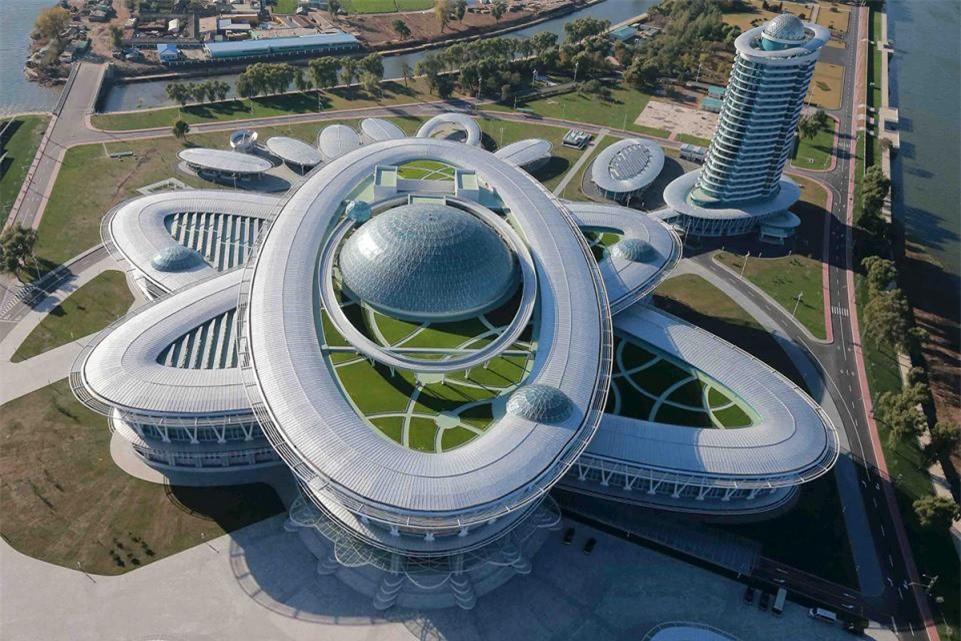 Những công trình kiến trúc độc đáo ở Triều Tiên