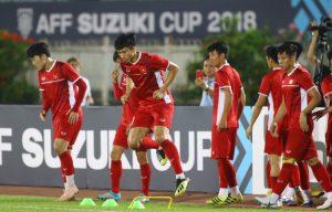 Đội tuyển Việt Nam tập sân chính, chờ đại chiến Indonesia