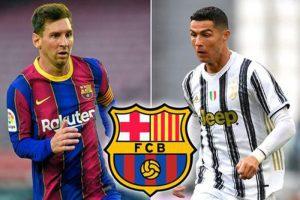Barcelona lên kế hoạch mua Ronaldo đá cặp với Messi