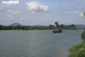 Cận cảnh cồn Dã Viên trên sông Hương sắp thành vườn Ngự uyển ở Huế