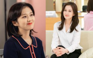 4 kiểu tóc giúp Jang Nara như bị thời gian bỏ quên