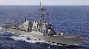 Sau khu trục hạm Anh, đến lượt tàu chiến Mỹ tiến vào Biển Đen