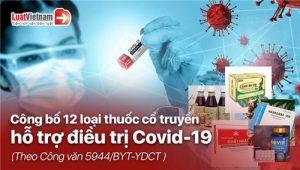 Bộ Y tế công bố 12 loại thuốc cổ truyền hỗ trợ điều trị Covid-19