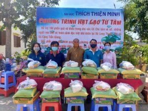Tấm lòng thiện nguyện vì người nghèo của Đại đức Thích Thiện Minh