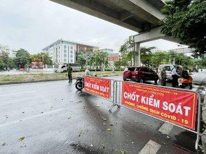 Phường Ô Chợ Dừa: Thực hiện nghiêm công tác phòng chống dịch Covid-19 trên địa bàn