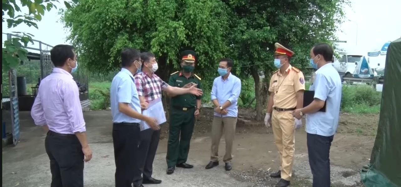 Nam Định: Người dân chung tay với chính quyền chống dịch Covid-19