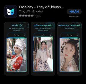 Cẩn thận mất tiền, thông tin cá nhân với ứng dụng thay đổi khuôn mặt FacePlay