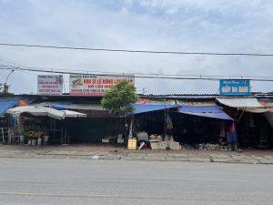 Thái Nguyên: Nhếch nhác rác thải chợ dốc Hanh