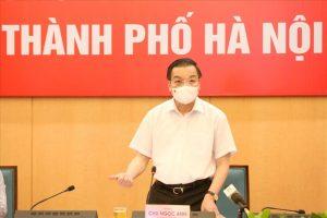 Chủ tịch Hà Nội: Hai ngày tới chưa xử phạt người chưa có giấy đi đường theo mẫu mới