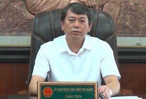 Chủ tịch Cao Bằng: 'Phòng dịch từ xa để giữ tỉnh xanh'