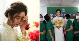 Đám cưới online gây xúc động, cô dâu ở Sài Gòn, chú rể ở Hà Nội