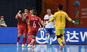 Thua tuyển Nga, đội tuyển futsal Việt Nam chia tay World Cup 2021