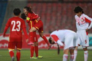 Thắng Tajikistan 7-0, đội tuyển nữ Việt Nam giành vé dự Asian Cup 2022