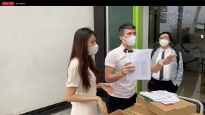 Thủy Tiên – Công Vinh chính thức gửi đơn tố cáo bà Nguyễn Phương Hằng lên Bộ Công an