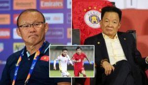 Bầu Hiển góp ý thẳng với HLV Park Hang Seo nên làm mới tuyển Việt Nam