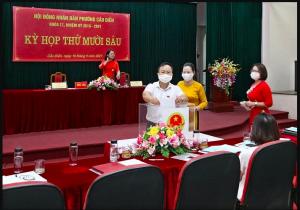 Hà Nội đề xuất chi hỗ trợ hơn 388 triệu đồng cho 21 lãnh đạo phường phải nghỉ việc