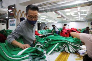 Ngành may mặc Hàn Quốc vực dậy nhờ cơn sốt 'Squid Game'