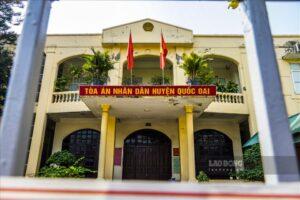 Tòa án huyện Quốc Oai, Hà Nội dừng hoạt động 21 ngày do phát hiện nhiều F0