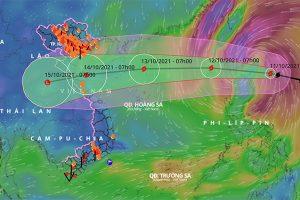 Bão Kompasu vào Biển Đông: Nguy cơ lũ quét, ngập úng nhiều nơi ở Bắc Bộ