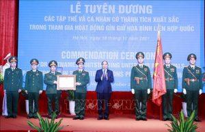 Tuyên dương các 'sứ giả hòa bình' của Việt Nam
