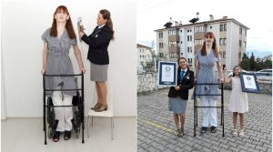 Kỷ lục Guinness 2022 ghi nhận người phụ nữ cao nhất thế giới