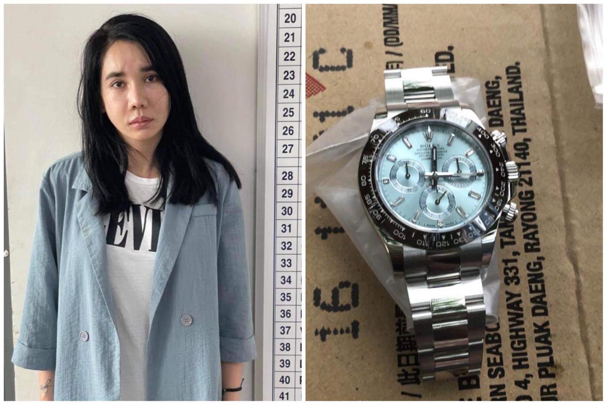 Hoa hậu trộm đồng hồ Rolex 2 tỷ của 'phi công' trẻ bị lộ vì Facebook