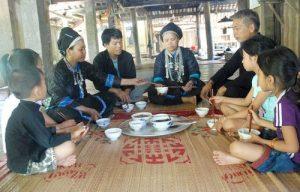 Lễ mừng cơm mới của đồng bào biên giới ở Hoàng Su Phì