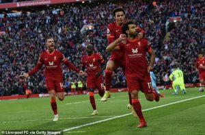 Trận cầu kịch tính giữa Liverpool và Man City tại vòng 7 giải Ngoại hạng Anh