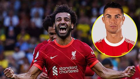 Tiền đạo xuất sắc nhất Ngoại hạng Anh sau 7 vòng: Ronaldo không địch lại Salah