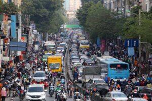 Hà Nội: Dự kiến thu phí ô tô vào nội đô từ năm 2025