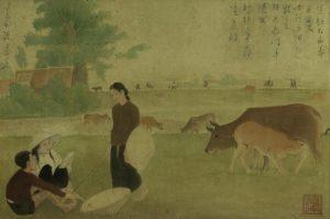 Vẻ đẹp xưa cũ qua những bức tranh về nông thôn Việt Nam