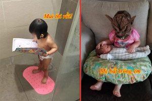 Những khoảnh khắc hài hươc của trẻ em